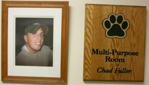 Plaque - Chad Fuller