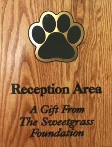 Plaque - Sweetgrass