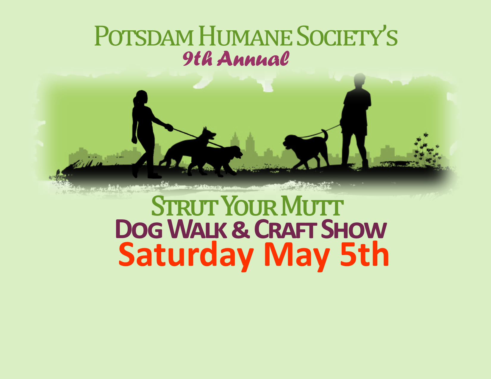<a href='http://potsdamhumanesociety.org/wp/?p=5366'>9th Annual Strut Your Mutt Walk &amp; Show May 5th</a>