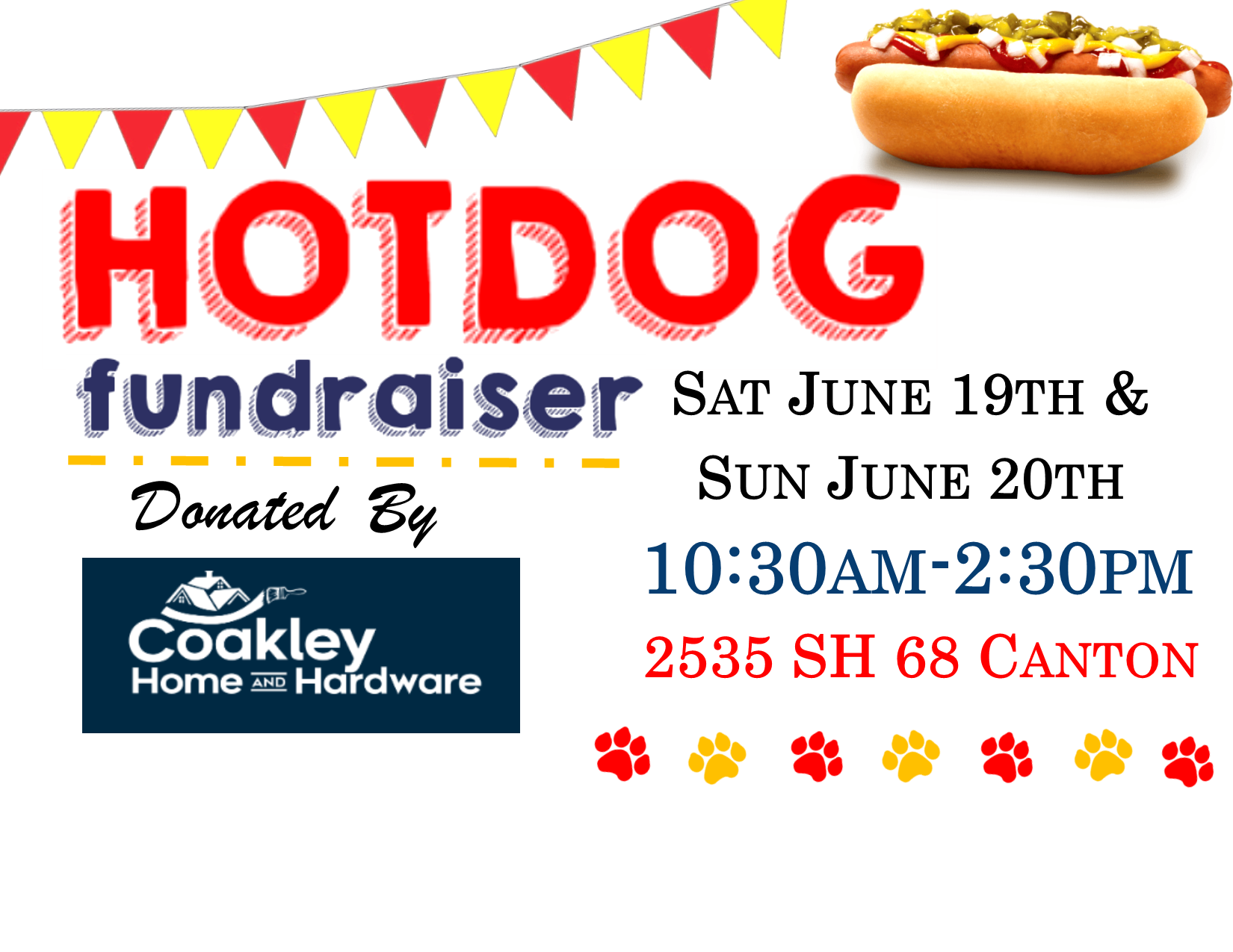 <a href='http://potsdamhumanesociety.org/wp/?p=11663'>Canton Coakley's June 19th & 20th </a>