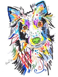 Monicas Dog Print
